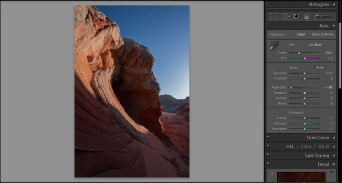 Step Two in my Lightroom Workflow