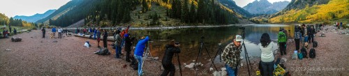 Pano From Maroon Lake