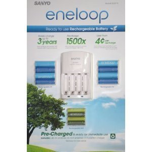Eneloop flash battery