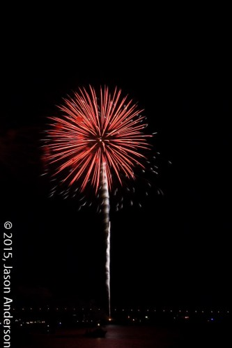 Fireworks photography shooting sample 2
