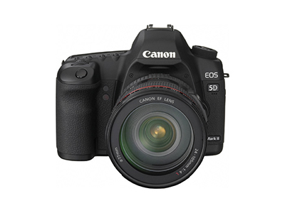 5D Mark II Front View